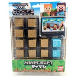 MINICRAFT - Gommes - Block Set - Wood Planks and Glass  - Figurine