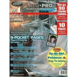 ULTRA PRO - 9-Card Pages '11 Hole' - Pack 10 Pages