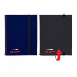 ULTRA PRO - Pro-Binder - 4 Pocket Portfolio - 80 Cards - Blue/Black 154108  Ultra Pro Pockets
