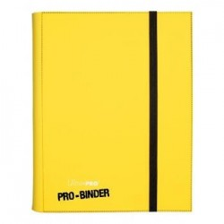 ULTRA PRO - Pro-Binder - 9 Pocket Portfolio - 360 Cards - Yellow 154104  Ultra Pro Pockets