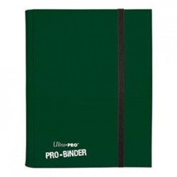 ULTRA PRO - Pro-Binder - 9 Pocket Portfolio - 360 Cards - Dark Green 154096  Ultra Pro Pockets