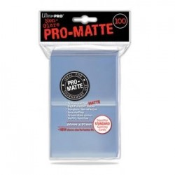 ULTRA PRO - Standard Deck Protector PRO-Matte Clear '100 Sleeves' 154090  Trading Cards