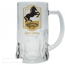 LORD OF THE RING - Tankard - Prancing Pony 153994  Glazen