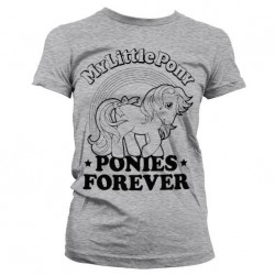 MY LITTLE PONY - T-Shirt Ponies Forever GIRLY (S) 153755  T-Shirts