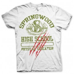 A NIGHTMARE ON ELM STREET - T-Shirt Springwood High School (S) 153741  T-Shirts Nightmare on Elm Street