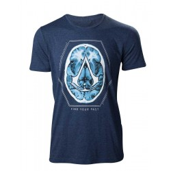 ASSASSIN'S CREED MOVIE- T-Shirt Find your Past Brain Crest (M) 153397  T-Shirts