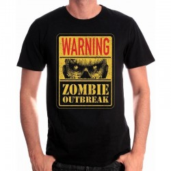 FOR GAMING - T-Shirt Zombie Outbreak (M) 153361  T-Shirts For Gaming