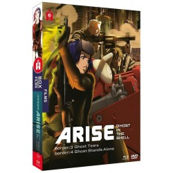 GHOST IN THE SHELL : Arise - Film 3 et 4 - Coffret Blu-Ray/DVD 153064  Blu Ray