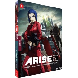 GHOST IN THE SHELL : Arise - Film 1 et 2 - Coffret Blu-Ray/DVD 153063  Blu Ray