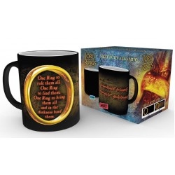 LORD OF THE RING - Mug Heat Change 300 ml - One Ring 152983  Drinkbekers - Mugs