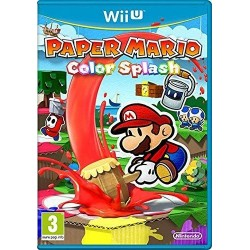 Paper Mario Color Splash 152536  Nintendo Wii U