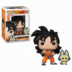DRAGON BALL Z - Bobble Head POP N° 531 - Yamcha and Puar - Figurine  171577  Bobble Head