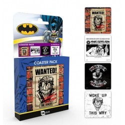 DC COMICS - Official Coaster Pack - Joker