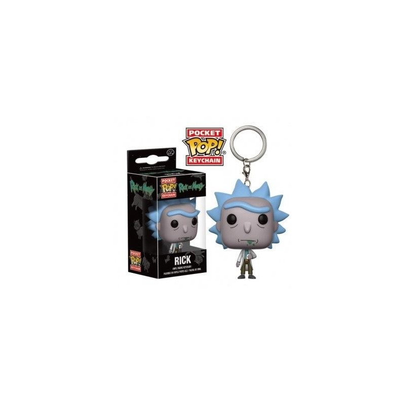 Pocket Pop Keychains : Rick & Morty - Rick 169931  Sleutelhangers