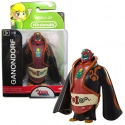 NINTENDO - Mini Figurines World of Nintendo - GANONDORF - 7cm 152156  Figurines