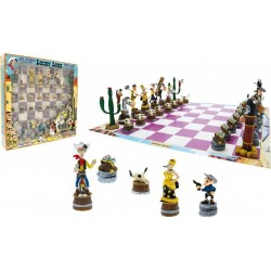 LUCKY LUKE - Chess Set 152079  Schaak Borden
