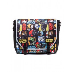STAR WARS - Retro Characters Comic Style Messenger Bag 152063  Messenger Bags