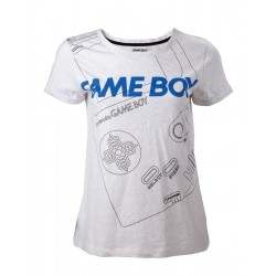 NINTENDO - T-Shirt Gameboy Line - GIRLS (XS)
