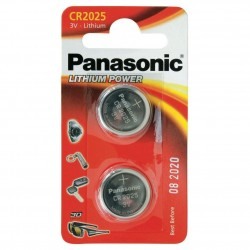 PANASONIC - Piles Lithium Coin - CR2025 X 2 151953  Batterijen