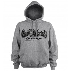 GAS MONKEY - Sweat Hoodie - Logo - Grey (M)