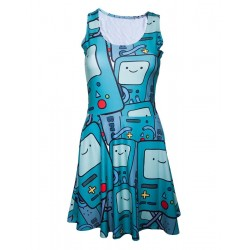 ADVENTURE TIME - Beemo All Over Printed Dress (XS) 151921  Jurken