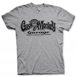 GAS MONKEY - T-Shirt Logo - grijs (L)