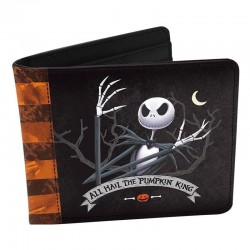 NIGHTMARE BEFORE CHRISTMAS - Vinyle Wallet - Jack 169892  Portefeuilles