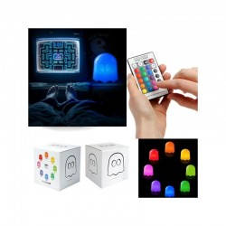 PAC MAN - Lampe Multi Couleurs GHOST (New Modele) 151565  Deco, Wand, Kamer & Nacht Lampen