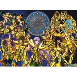 SAINT SEIYA - Poster 68X98 - Chevaliers d'Or 151531  Posters