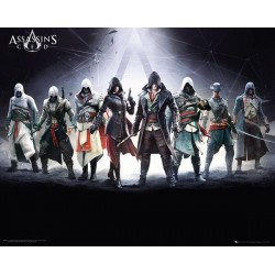 ASSASSIN'S CREED - Mini Poster 40X50 - Characters 151504  Posters