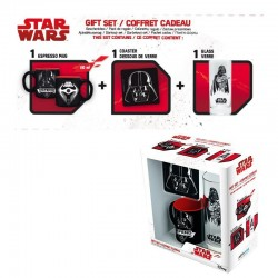STAR WARS - Gift Box Dark Vador (Glass+ Coaster+ Mini-Mug) V2 169886  Star Wars