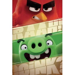 ANGRY BIRDS - Poster 61X91 - Raah 151470  Posters