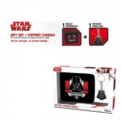 STAR WARS - Gift Box (Wallet + Keyring) - Dark Vador