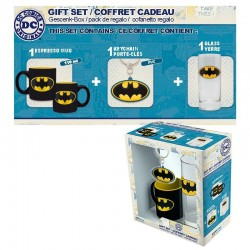 DC COMICS - Gift Box (Glas+ Sleutelhanger + Mini Beker) - Batman