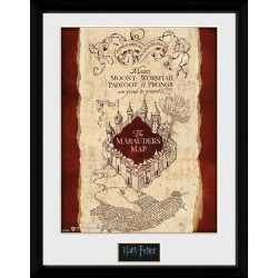 HARRY POTTER - Collector Print 30X40 - Marauders Map 151381  Collector Print Canvas