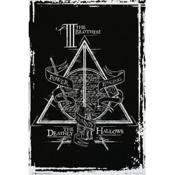 Harry Potter - Poster 61X91 - Deathly Hallows Graphic 151367  Posters