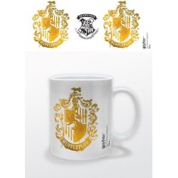 HARRY POTTER - Mug - 300 ml - Hufflepuff Stencil 151355  Drinkbekers - Mugs