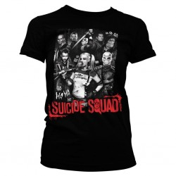 SUICIDE SQUAD - T-Shirt Suicide Theme - GIRLY (L) 151004  T-Shirts