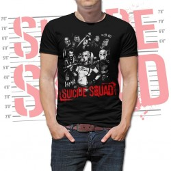 SUICIDE SQUAD - T-Shirt Suicide Theme - Men (S) 150997  T-Shirts