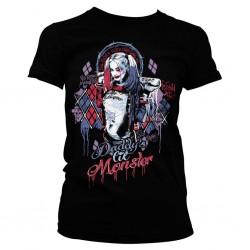 SUICIDE SQUAD - T-Shirt Harley Quinn Girly (M) 150993  T-Shirts Harley Quinn