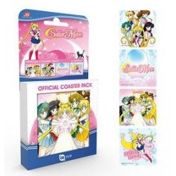 SAILOR MOON - Official Coaster Pack - Mix