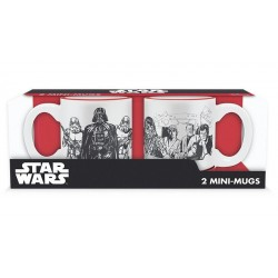 STAR WARS - Set 2 Mini-Mugs - Empire Vs Rebel 150360  Drinkbekers - Mugs