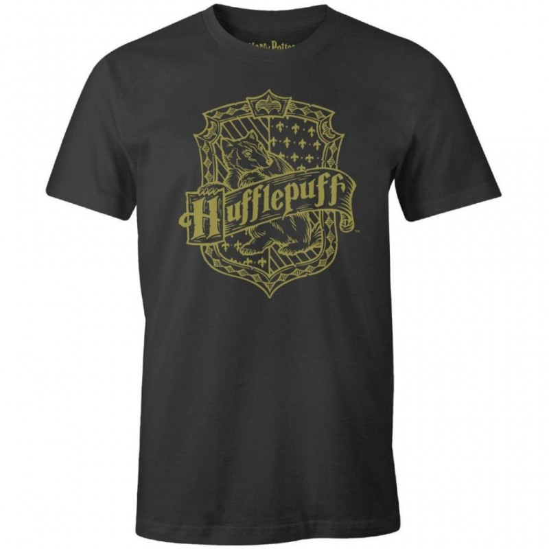 HARRY POTTER - T-Shirt Hufflepuff School (XL) 169805  T-Shirts