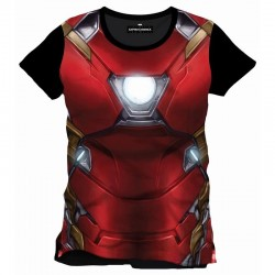 CIVIL WAR - T-Shirt Iron Man Subli All (XL) 150026  T-Shirts Civil War