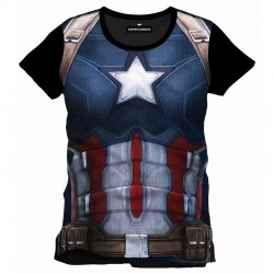 CIVIL WAR - T-Shirt Captain Subli All (XL) 150021  T-Shirts Civil War