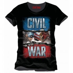 CIVIL WAR - T-Shirt Propaganda (M) 149999  T-Shirts Civil War