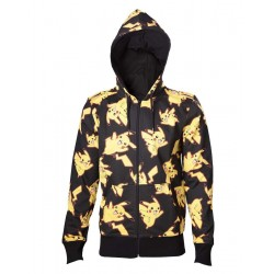 POKEMON - Sweatshirt Pikachu All Over Hoodie (L)