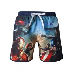 CAPTAIN AMERICA CIVIL WAR - Theme Swimshort (S)
