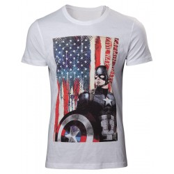 CAPTAIN AMERICA CIVIL WAR - T-Shirt American Flag (XL) 149918  Alles