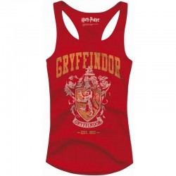 HARRY POTTER - T-Shirt Top Tank Gryffindor Old School - GIRL (L) 149839  Top Tank Shirts